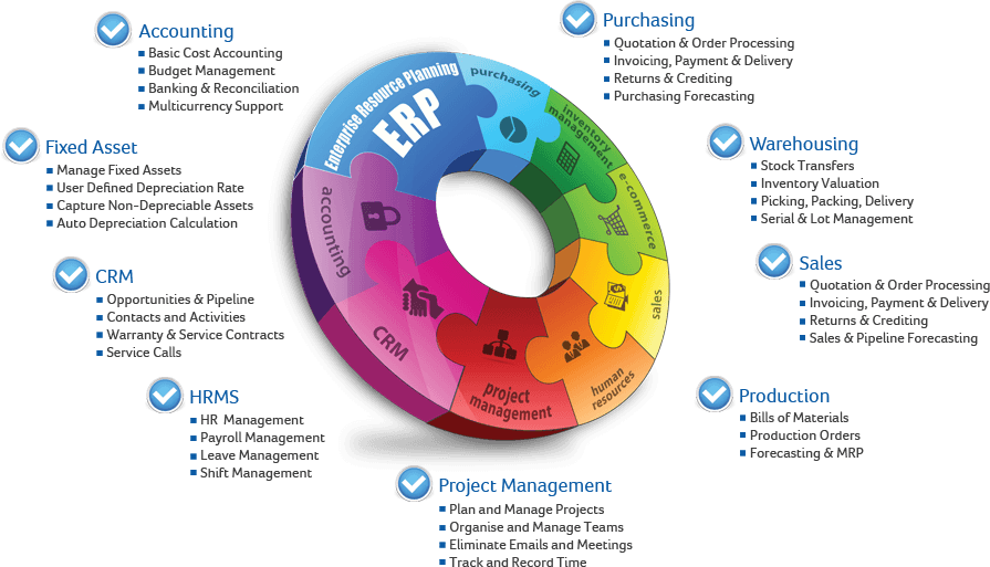 Erp Software Business Process Automation Software